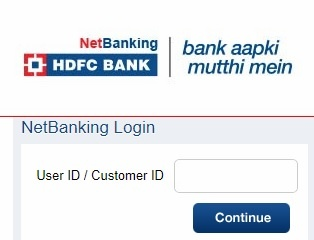 HDFC Netbanking Activation on Online