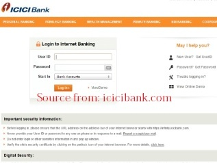 ICICI Bank Internet Banking Activation and Login Procedure