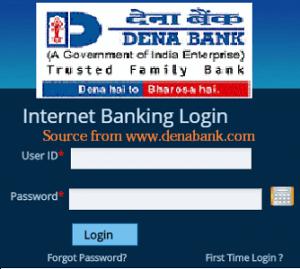 Dena bank Internet banking