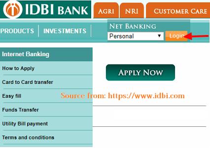 IDBI Netbanking