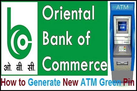 How to Generate OBC ATM Green Pin