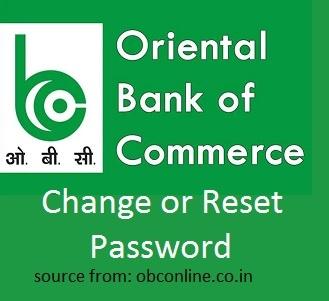 OBC Bank MPIN Change