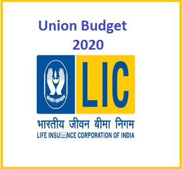 LIC IPO Budget