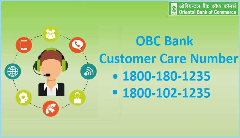 OBC Bank Customer Care Number