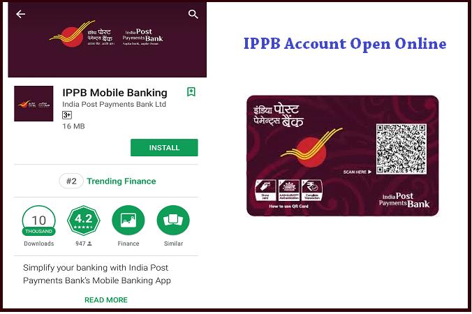 IPPB Account Online