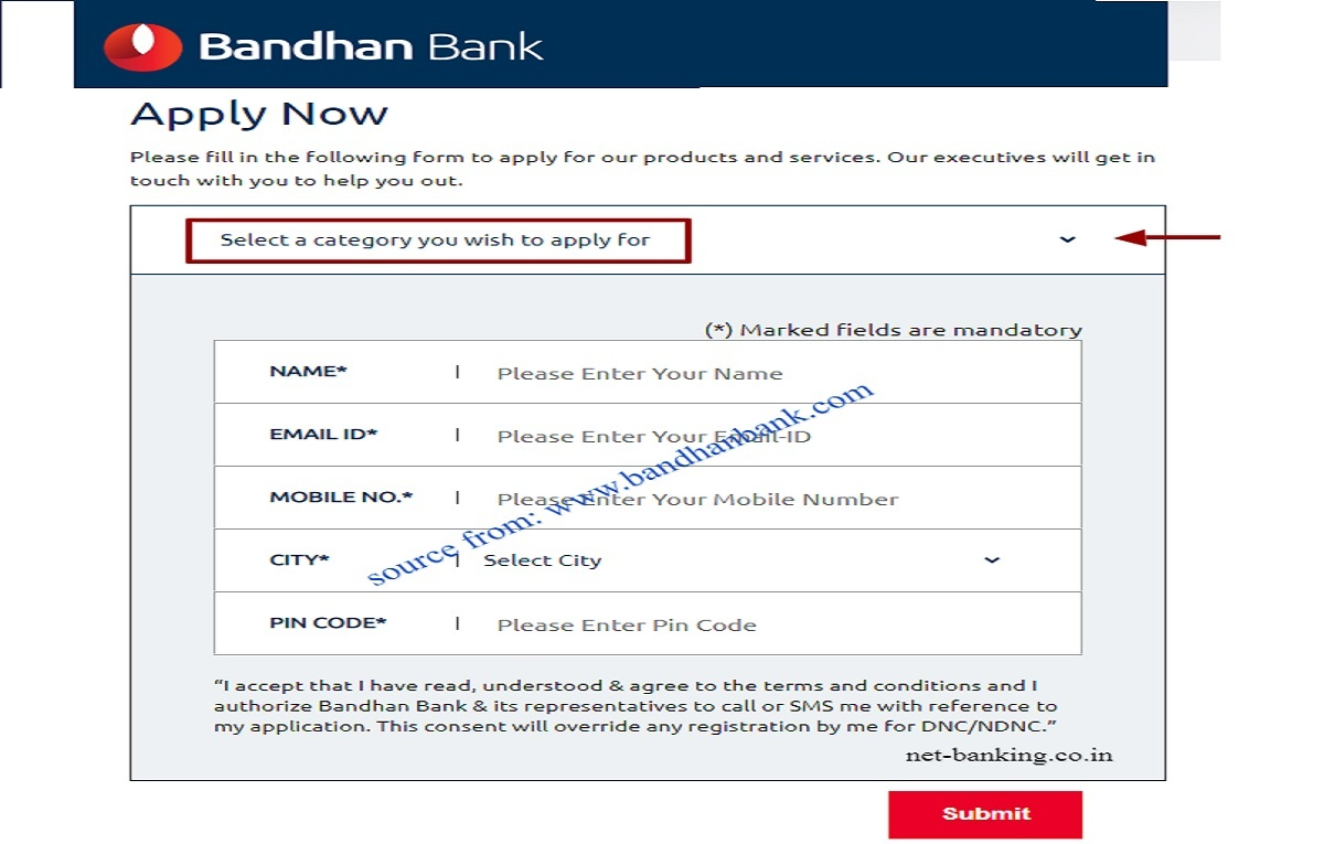 Bandhan Bank neo saving account open online